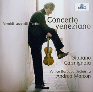 Giuliano Carmignola 줄리아노 카르미뇰라 베네치아 바이올린 협주곡집 - 비발디 / 로카텔리 / 타르티니 (Concerto Veneziano)