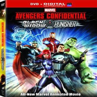 Avengers Confidential: Black Widow & Punisher (어벤져스 컨피덴셜: 블랙 위도우 앤 퍼니셔)(지역코드1)(한글무자막)(DVD)