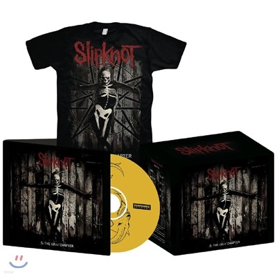 Slipknot - .5: The Gray Chapter (Deluxe T-Shirt Edition / S Size)