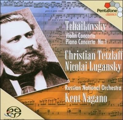 Christian Tetzlaff / Nikolai Lugansky 차이코프스키: 바이올린 협주곡, 피아노 협주곡 (Tchaikovsky: Violin Concerto Op.35, Piano Concerto Op.23)