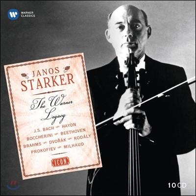 Janos Starker 야노스 슈타커 EMI 녹음 전집 (Icon - The Warner Legacy)