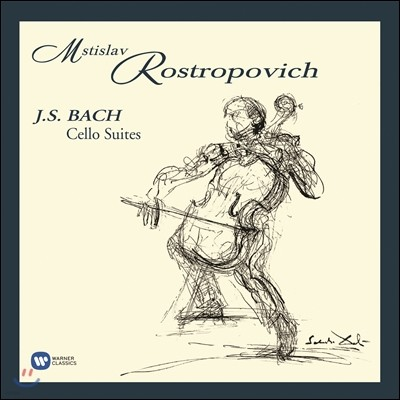 Mstislav Rostropovich 바흐: 무반주 첼로 모음곡 전곡집 - 로스트로포비치 (Bach: Cello Suites Nos. 1-6, BWV1007-1012)