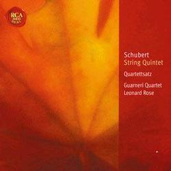 Schubert : String QuintetㆍString Quartet : Guarneri QuartetㆍLeonard Rose