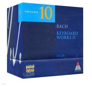 [수입] 바흐 2000 10권 - 키보드 작품집 2 (11CD BACH 2000 VOL.10 - KEYBOARD WORKS 2