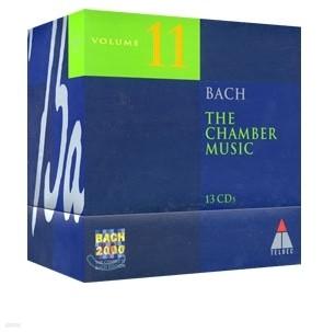 [수입] 바흐 2000 .11권 : 실내악 작품집 (13CD) BACH 2000 VOL.11 : THE CHAMBER MUSIC