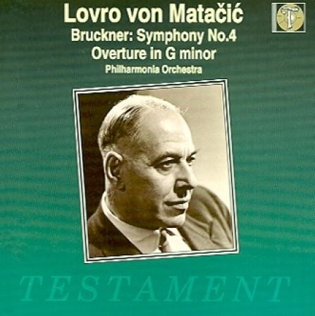 [수입] 브루크너 : 교향곡 4번 (BRUCKNER - SYM NO.4 ) - 로브로 폰 마타치치