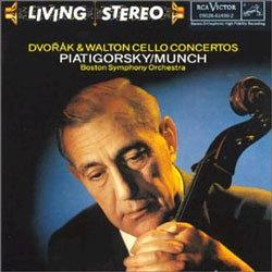 Dvorak & Walton : Cello Concerto : PiatigorskyㆍMunch