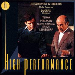 Tchaikovsky & Sibelius : Violin Concerto / Dvorak : Romance : PerlmanㆍBoston SymphonyㆍLeinsdorf