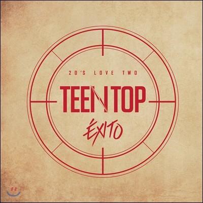 틴탑 (Teen Top) - 리패키지 앨범 : Teen Top 20's Love Two Exito