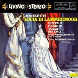 Donizetti : Lucia Di Lammermoor : Leinsdorf
