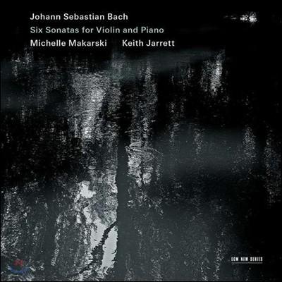 Michelle Makarski / Keith Jarrett 바흐: 바이올린과 하프시코드를 위한 소나타 (Bach: Sonatas for Violin & Harpsichord Nos. 1-6, BWV1014-1019)