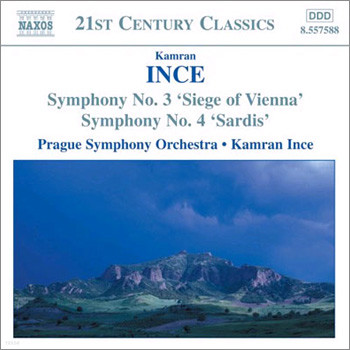 Ince : Symphony No.3 and 4