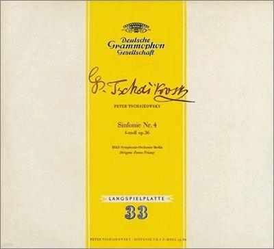 Tchaikovsky : Symphony No.4 : RIAS Symphonie-Orchester BerlinㆍFerenc Fricsay