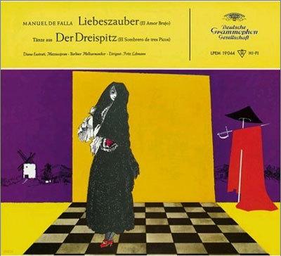 Falla : El amor brujoㆍEl Sombrero de tres picos : Berliner PhilharmonikerㆍFritz Lehmann