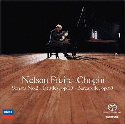 Chopin : Sonata No.2ㆍEtudes Op.10 : Nelson Freire