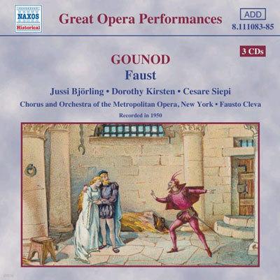 Gounod : Faust : BjorlingㆍKirstenㆍSiepiㆍCleva