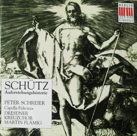 [수입] 쉬츠 (SCHUTZ) - 예수 부활의 역사 (HISTORIA DER AUFERSTEHUNG JESU CHRISTI)