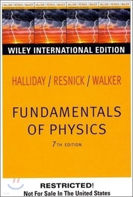 Fundamentals of Physics 7/E
