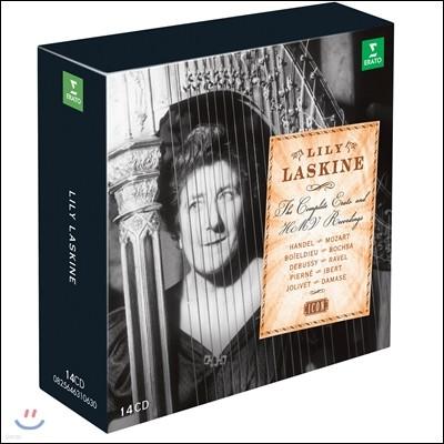 Lily Laskine 릴리 라스킨 EMI, ERATO 전집 - 하프 연주집 (The Complete Erato, HMV Recordings)