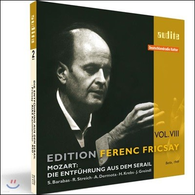 Ferenc Fricsay 모차르트: 후궁으로부터의 도피 (Mozart: Die Entfuhrung aus dem Serail, K384)