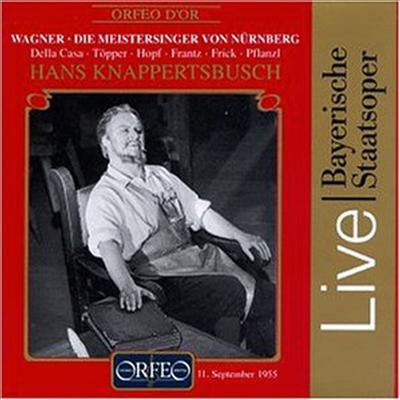 바그너 : 뉘른베르크의 마이스터징거 (Wagner : Die Meistersinger Von Nurnberg) (4CD) - Hans Knappertsbusch