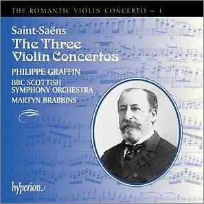 Philippe Graffin 낭만주의 바이올린 협주곡 1집 - 생상스 (The Romantic Violin Concerto 1 - Saint-Saens)