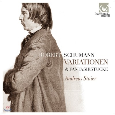 Andreas Staier 로베르트 슈만: 변주곡과 환상곡 (Schumann: Variations & Fantasy Pieces)