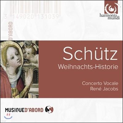 Rene Jacobs 쉬츠: 크리스마스 이야기 (Schutz: Weihnachts-Historie)