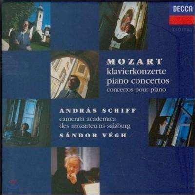 Andras Schiff 모차르트: 피아노 협주곡 - 안드라스 쉬프 (Mozart: Piano Concertos)