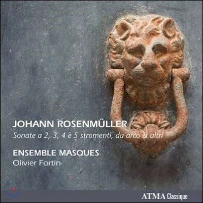 Ensemble Masques 로젠뮐러: 12개의 소나타 작품집 (Rosenmuller: Sonate a 2, 3, 4 e 5 stromenti da arco & altri)