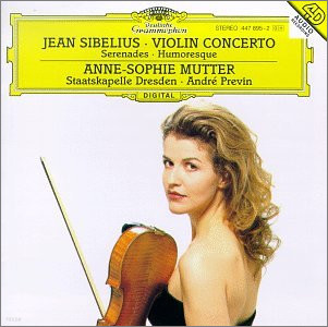 Anne-Sophie Mutter / Andre Previn 시벨리우스 : 바이올린 협주곡 (Sibelius : Violin Concerto) 안네 소피 무터