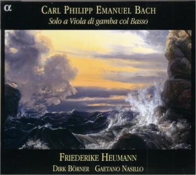 Friederike Heumann 카를 필리프 에마누엘 바흐: 비올라 다 감바 소나타 (C.P.E.Bach : Solo a Viola di gamba col Basso)