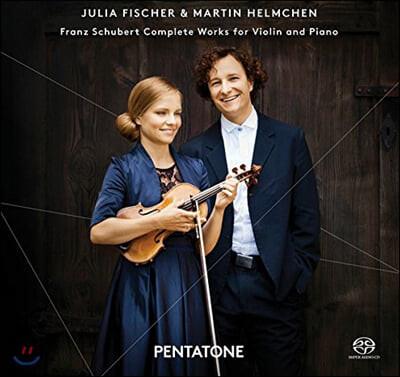 Julia Fischer 슈베르트: 바이올린과 피아노를 위한 작품 전곡집 - 율리아 피셔 (Schubert: Complete Works for Violin and Piano)