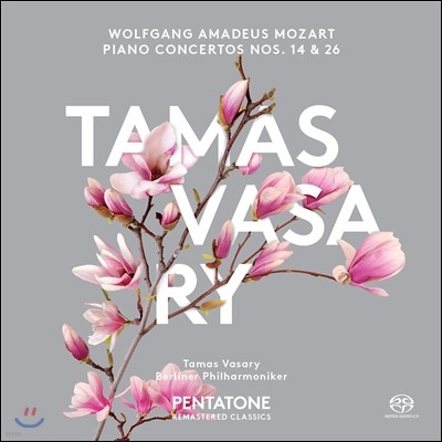Tamas Vasary 모차르트: 피아노 협주곡 14번 26번 (Mozart: Piano Concertos Nos. 14 & 26)