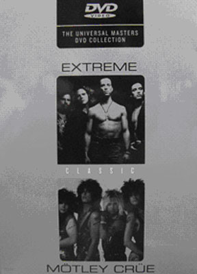 Extreme & Motley Crue - Classic : Master DVD Collection Vol.1 (2disc)
