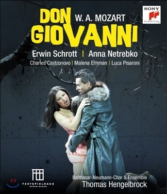 Erwin Schrott / Anna Netrebko 모차르트 : 돈 조반니 (W.A. Mozart : Don Giovanni) DVD