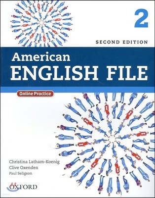 American English File 2 : Student Book with Online Practice