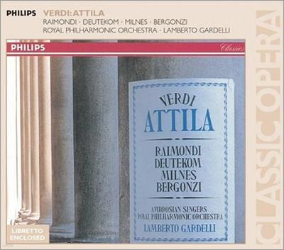 Verdi : Attila : Gardelli