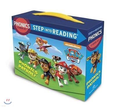 Step Into Reading : Paw Patrol Phonics Box Set
