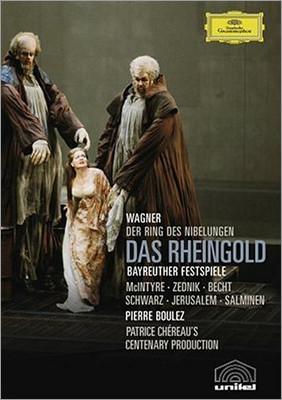Pierre Boulez 바그너: 라인의 황금 - 피에르 불레즈 [바이로이트 페스티벌] (Wagner: Das Rheingold - Bayreuther Festspiele)