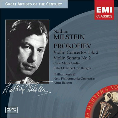 Nathan Milstein 프로코피에프 : 바이올린 협주곡 1ㆍ2번 (Prokofiev : Violin Concerto)
