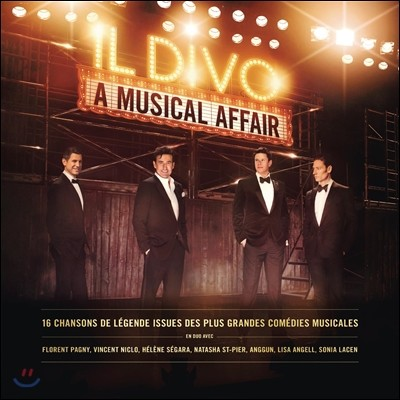 Il Divo (일 디보) - A Musical Affair (French Edition)