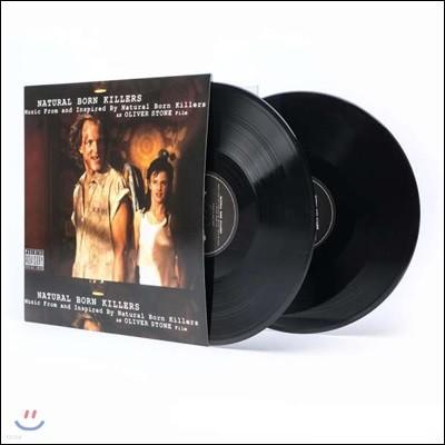 올리버 스톤의 내츄럴 본 킬러 영화음악 (Natural Born Killers OST) [2LP]