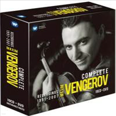 막심 벤게로프 - 레코딩 전집 1991년 - 2007년(Maxim Vengerov - The Complete Recordings 1991-2007) (19CD+DVD Boxset) - Maxim Vengerov
