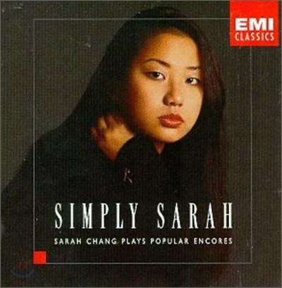 Simply Sarah : 장영주 바이올린 소품집