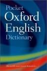 Pocket Oxford English Dictionary, 10/E