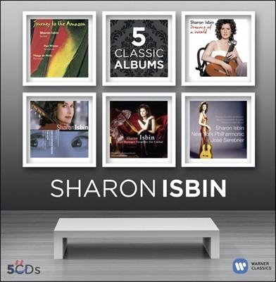 샤론 이스빈 기타 연주집 (Sharon Isbin - 5 Classic Albums)