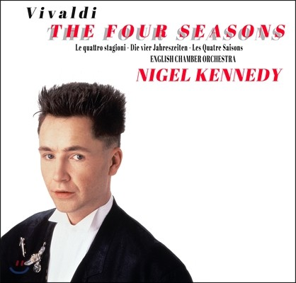 Nigel Kennedy 비발디: 사계 25주년 기념 (Vivaldi: The Four Seasons)[CD+DVD 한정반)