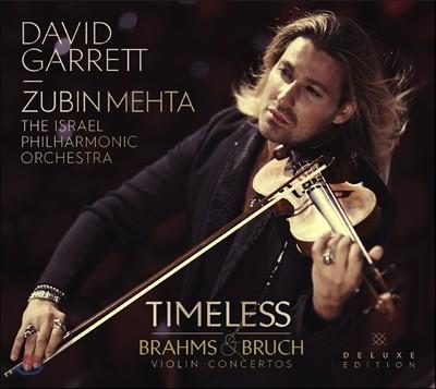 David Garrett 브루흐 / 브람스 바이올린 협주곡 (Timeless) [CD+DVD한정반]
