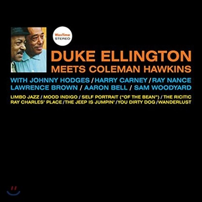 Duke Ellington Meets Coleman Hawkins 듀크 엘링턴 & 콜맨 호킨스 [180g LP]